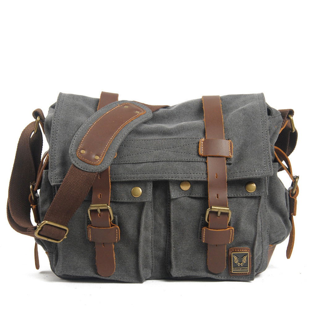 Muchuan cloth Europe and the United States to restore ancient ways ms canvas men messenger bag one shoulder bag Male canvas bag abierto mexicano los cabos wednesday page 3