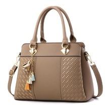 Luxury Embossed PU Leather Shoulder Handbag