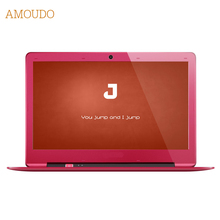 Amoudo 14 inch 8GB Ram+120GB SSD+500GB HDD Intel Pentium Quad Core Windows 7/10 System Fashion New Laptop Notebook Computer