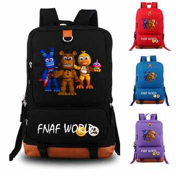 Five Nights At Freddy's Backpack fnaf world student school bag Notebook backpack Leisure Daily backpack - DISCOUNT ITEM  0% OFF All Category