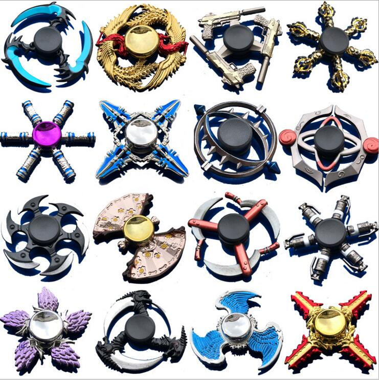 King Glory Game Hand Spinner EDC Fidget Spinner Anti-Anxiety Toy For Spinners Focus Relieves Stress ADH Accessoires Hand Spinner