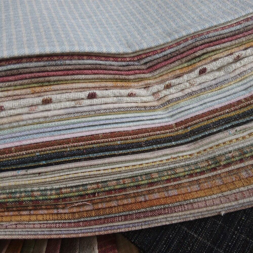 Handarbeit baumwolle stoff DIY patchwork tuch quilting stoff 50 farben 1/16 meter jede farbe-in Stoff aus Heim und Garten bei  Gruppe 3