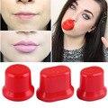 Nueva Silicona Sexy Completo Dispositivo Ronda Aumento de labios Potenciador Labio Más Regordete labio más regordete Labio Bombas de Maquillaje Herramientas de Belleza de Las Mujeres