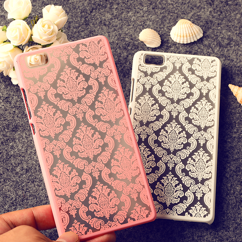 Classic Covers Cases For Huawei Ascend P8 Lite P8 Mini ALE_L21 ale l21 5 inch cases Henna Floral Retro women Plastic back covers