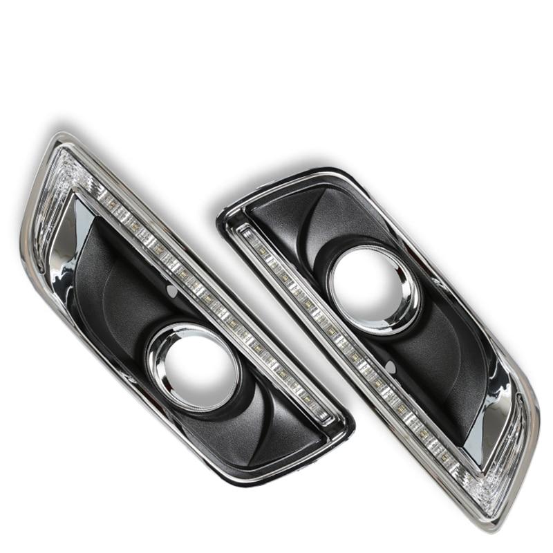 Светодиодные дневные ходовые свет для Шевроле Малибу с туман Лампа отверстие 2011 2012 2013 2014 с поворотным светом функция абсолютно новый