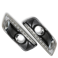 LED Daytime Running Light For Chevrolet Malibu With Fog Lamp Hole 2011 2012 2013 2014 With