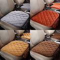 Silk Velvet Car Vehicle Front Rear Seat Protective Cover Set Cushion Mat Decor