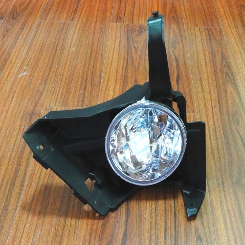 1Pcs Left Side Front Bumper Driving Fog Lamps Clear Fog Light with Bracket LH For Honda CRV CR-V 2005-2006 front left