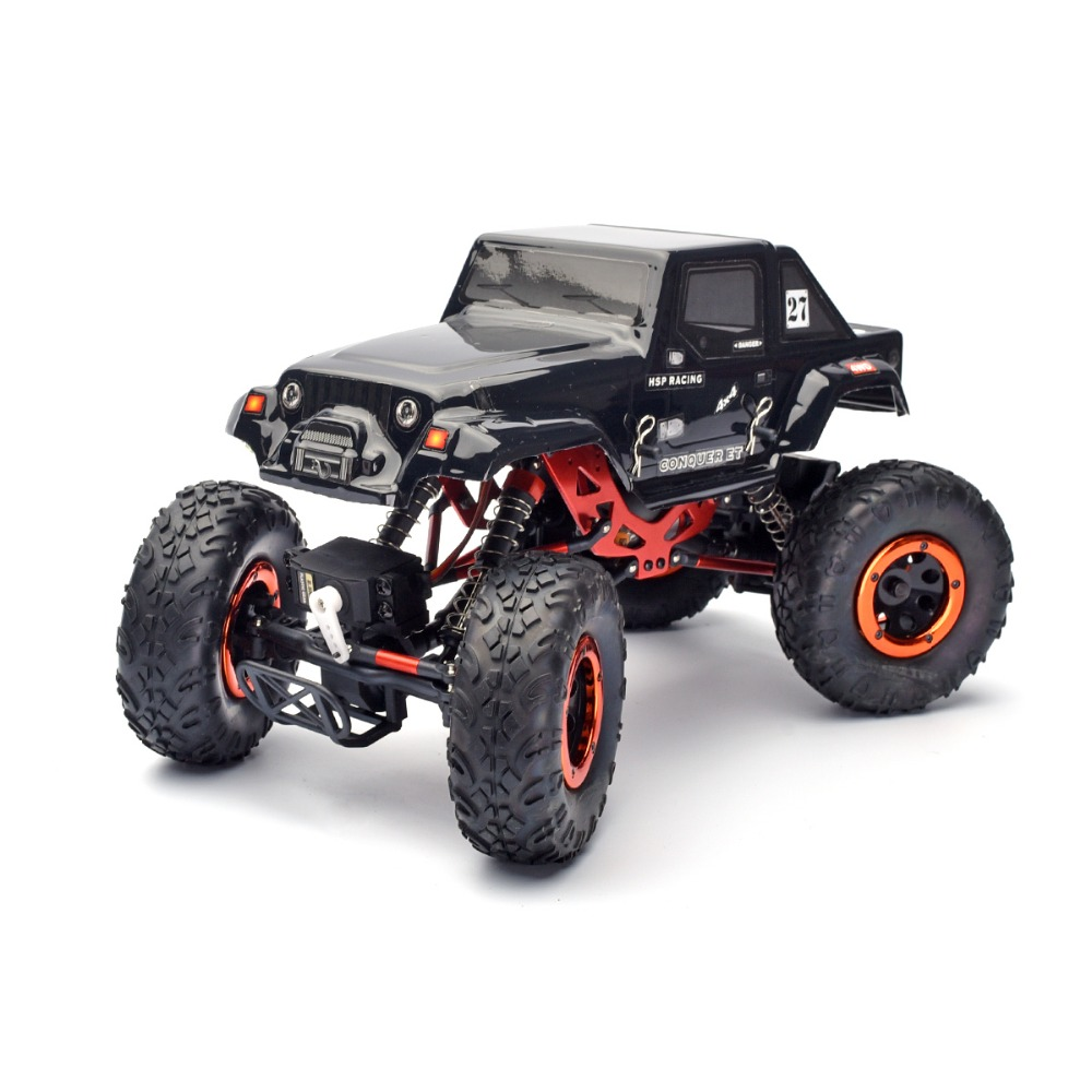 HSP Rc Car Kulak 1/18 Scale 4wd Remote Control Car Electric Powered Off Road Crawler  94680 Climbing Car For Kid Toys 02023 clutch bell double gears 19t 24t for rc hsp 1 10th 4wd on road off road car truck silver