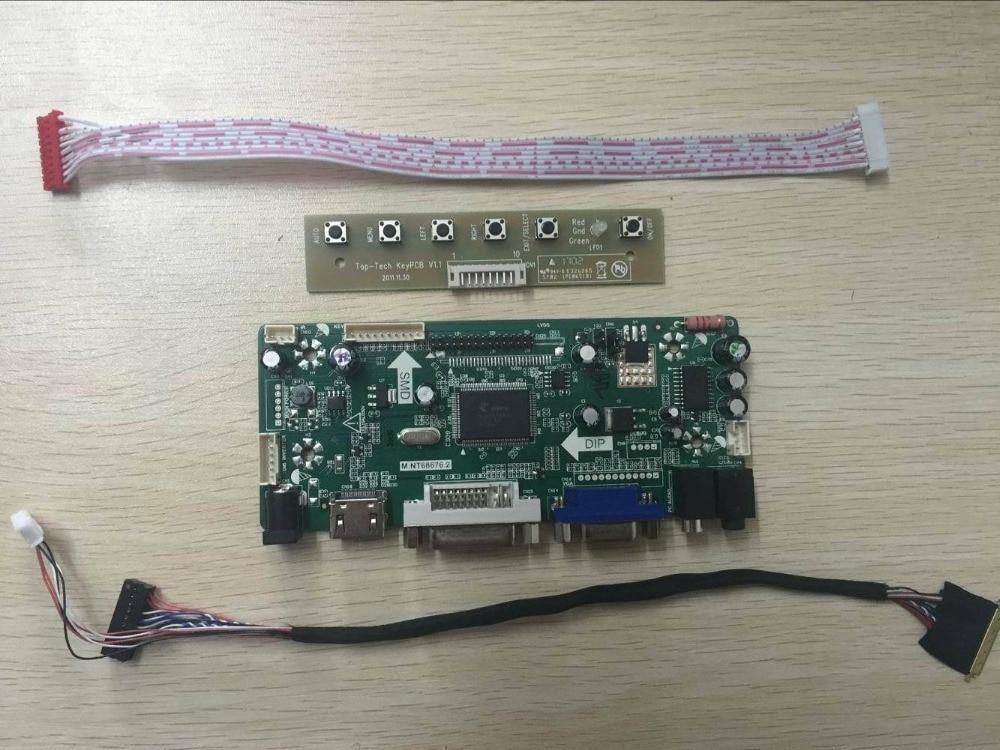 B3 LCD Controller led Board lvds Kit For LP171WP4 TL VGA DVI Audio HDMI