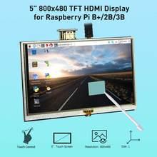Elecrow LCD 5 Cal Raspberry Pi 3 wyświetlacz dotykowy ekran HD 800x480 5