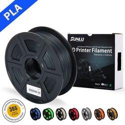 SUNLU 3D เครื่องพิมพ์ Pla Filament 1.75mm 1kg spool ต่ำมิติความแม่นยำ 0.02 มม.3D การพิมพ์