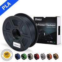 SUNLU 3D Filament drukarki PLA Filament 1.75mm 1kg szpula niski zapach dokładność wymiarowa 0.02mm 3D włókna do drukowania w Materiały do druku 3D od Komputer i biuro na