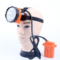 2017 New Miner Lamp Rechargeable Headlamp Waterproof Explosion Rroof Headlight Cap Lamp For Miner Hunting Fishing