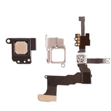 Earpiece Speaker with Metal Bracket + Proximity Sensor Light Flex Cable For iPhone 5S Front Camera Assembly Flex Cable