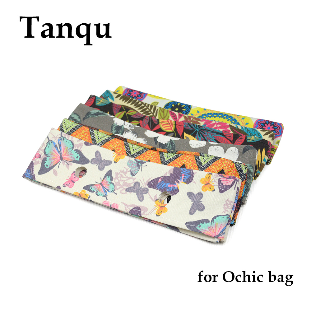 TANQU New Summer Floral Fabric Trim Cotton Fabric Thin Decoration For Ochic Obag Handbag O Bag Body For Summer Autumn