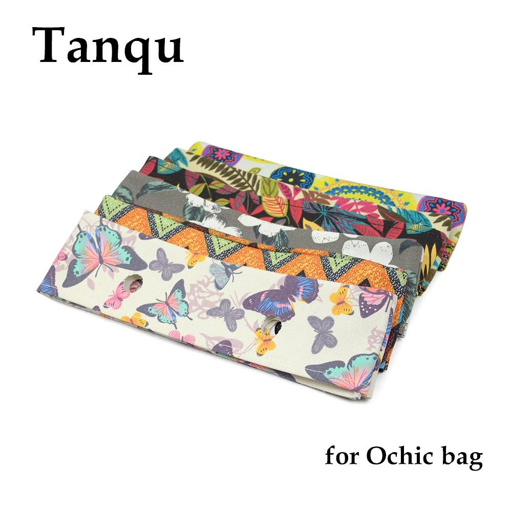 TANQU New Summer Floral Fabric Trim Cotton Fabric Thin Decoration For Ochic Obag Handbag O Bag Body For Summer Autumn