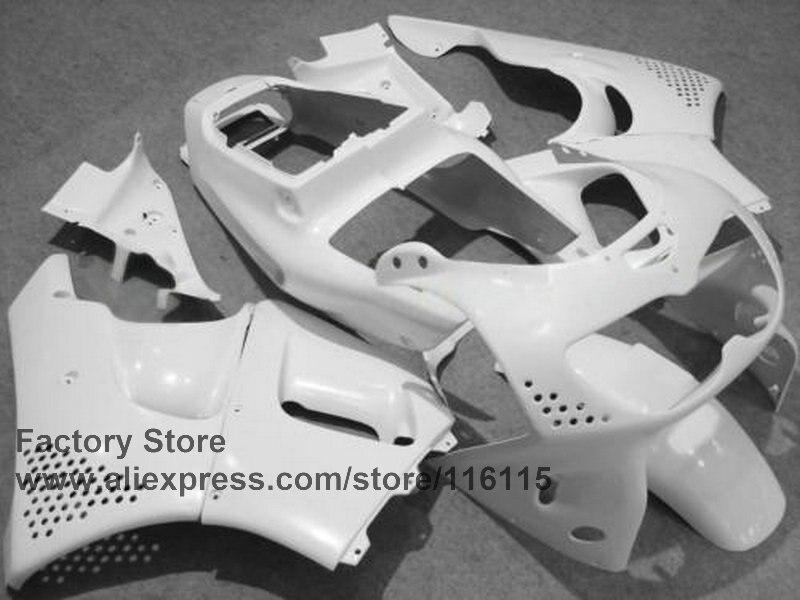 Kits de carénage ABS personnalisés pour HONDA CBR900RR 96 97 CBR893 RR 1996 1997 pièces de carénage CBR 893 moto blanche - 2