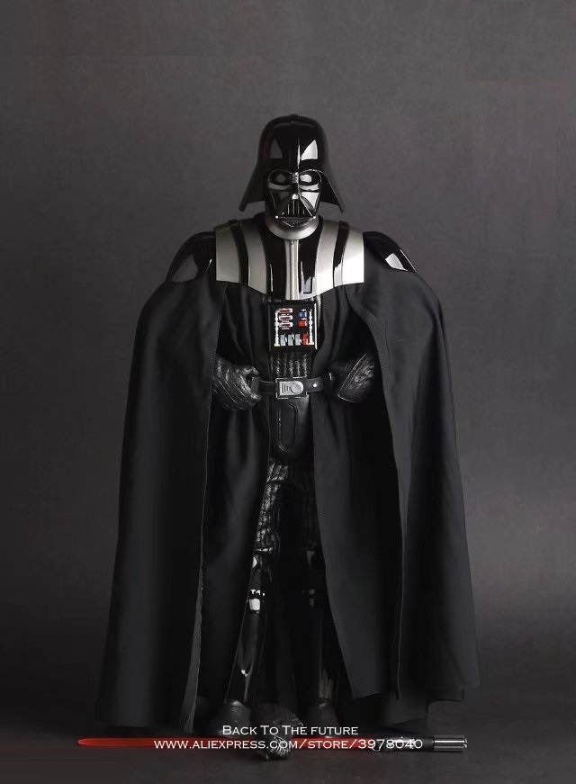 Disney Star Wars Darth Vader 30cm Action Figure Posture Model Anime Decoration Collection Figurine Toys model for children gift cartoon fight hero star model desktop decoration gift