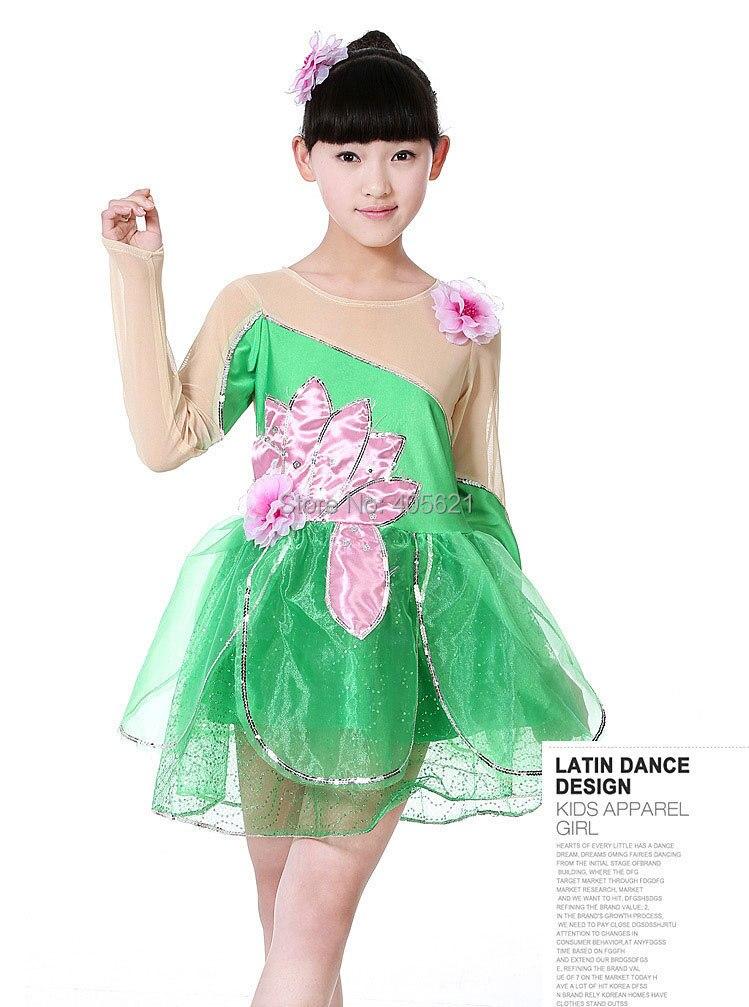 650746446a 10 pçs lote saias Tutu de dança Lotus piscina de luar uniformes de vestido  Dancewear desempenho roupa figurino