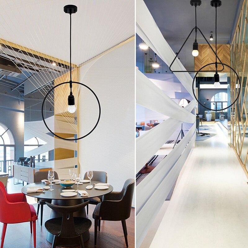 Modern Loft Industrial Ceiling Lamp Geometric Character Restaurant Bar  Light Fixture Irregular Shape Coffee Shop Ceiling Light In Ceiling Lights  From Lights ...