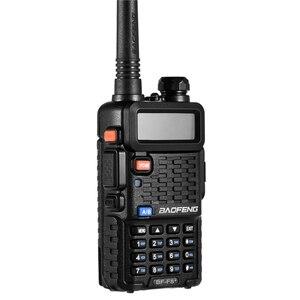 Image 3 - 2個オリジナルbaofeng F8 + 長距離woki土岐警察トランシーバートランシーバー5キロ範囲双方向ラジオwalkyトーキーアマチュア無線のhf受信機