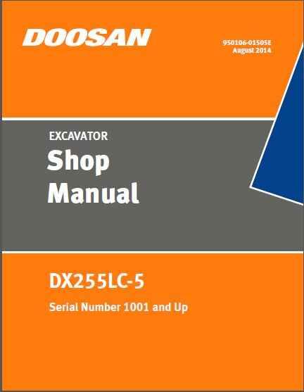 Daios Doosan 2018 WorkShop Manual and Maintenance and ... on