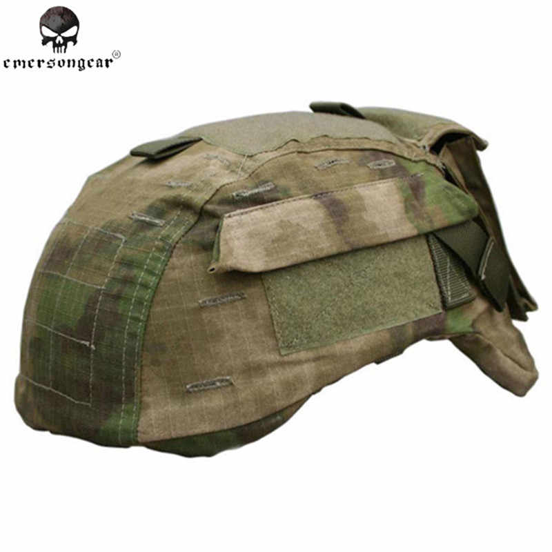 Emerson Airsoft Tactical Capacete Capa para MICH 2001 Capacete Versão 2 Exército Paintball Capacete Pano Capa Capacete Militar #