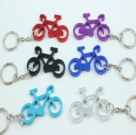 Free Shipping,200 Pcs/lot Cute Bike Bicycle Metal Beer Bottle Opener keychain key rings for bike lover biker Gift for cycling