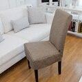 Personalize qualidade roupa de qualidade espessamento tampa da cadeira uma peça cadeira de jantar ocver