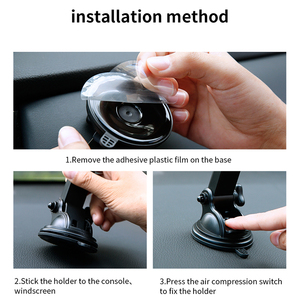 Image 5 - Baseus Infrared Induction Wireless Car Charger For iPhone 11 Pro Max Samsung S9 Qi Fast Wirless Charging Car Phone Holder Stand