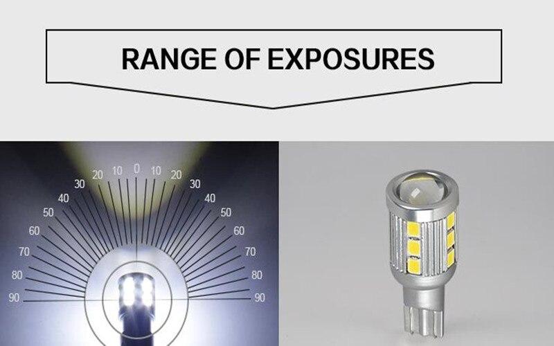T16 18SMD LED svjetla za vožnju unazad Stražnja svjetla Automobili - Svjetla automobila - Foto 4