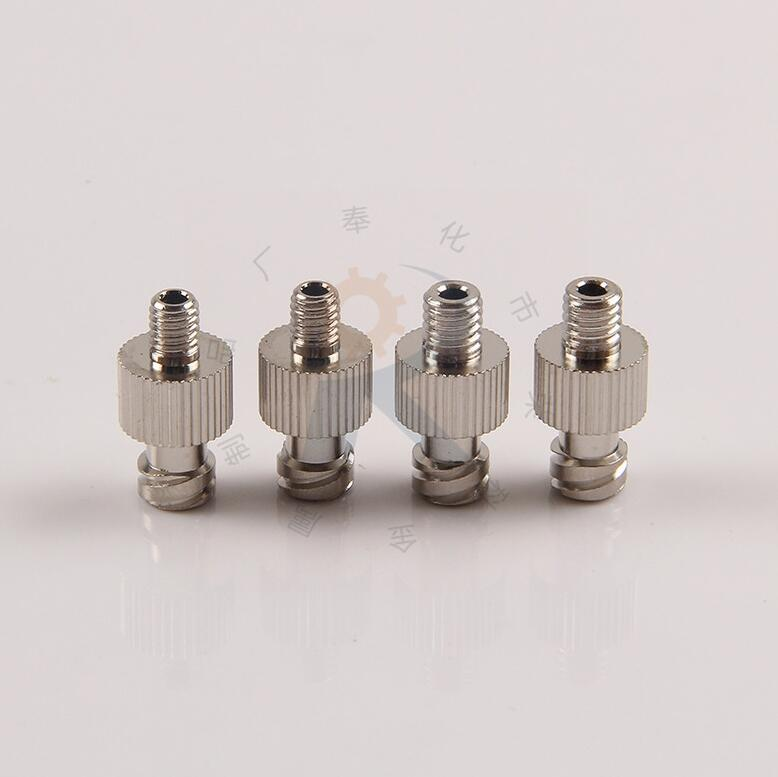 Syringe Barrel Luer Lock Adapter With Screw End M5,M6,G1/8,G1/4 Optional For Liquid ,glue Subpackaging