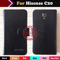 Hot!! Hisense C20 Case 6 Colors Ultra-thin Luxury Dedicated Leather Exclusive For Hisense C20 100% Special Phone Cover+Tracking