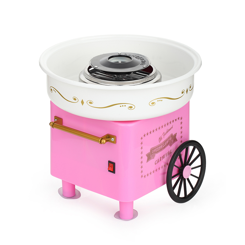 220v electric mini cotton candy maker machine sweet cotton candy diy for kids gift easy operation - Cotton Candy Machines