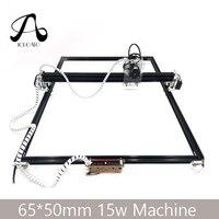 Free Shipping 15W Laser Machine 65*50CM CNC Machining Laser Engraving Machine, DIY Laser Cutting Machine,Wood CNC Router