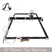 Free Shipping 15W Laser Machine 65*50CM CNC Machining Laser Engraving Machine, DIY Laser Cutting Machine,Wood CNC Router