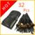32 Pcs 32 Pcs cosméticos Facial Make up Brush Kit Makeup Brushes ferramentas Set marca cristal cabra escova maquiagem de cabelo profissional