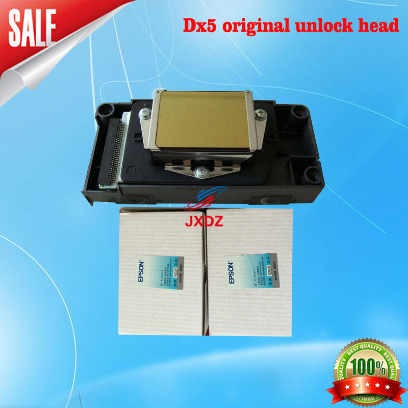 Dx5 original unlock head New quality goods trading EP5 oil nozzle  186000 unencrypted five generation outdoor oily print head