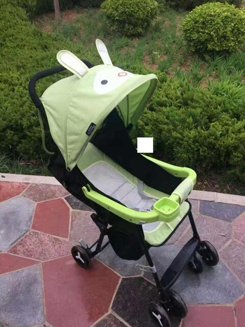 Baby Pram Umbrella Summer Light Baby Stroller Can Sit Lie Portable Folding Baby Carriage Travel Airplane Baby Pram Umbrella Car Back Organizer Bag