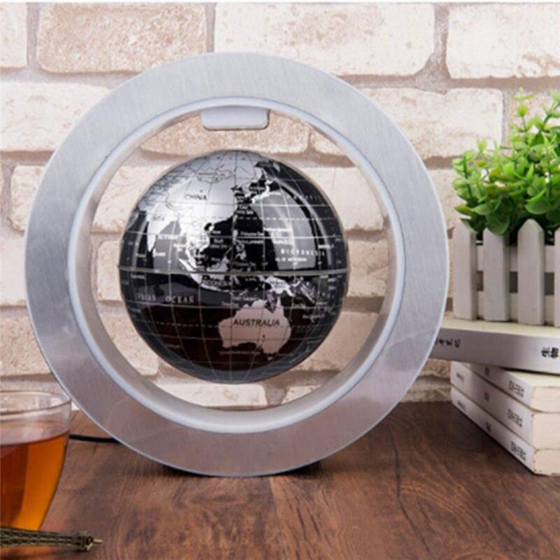 Nouveauté électrique LED ronde Globe flottant lévitation magnétique nuit lumière idées antigravité lampe boule pour enfants enfants cadeaux - 4
