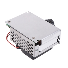 цена на AC 220V 4000W SCR Variable Voltage Regulator Motor Speed Control Controller Fan