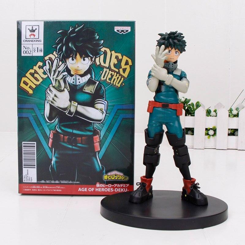 Xmas gift Todoroki Shoto My Hero Academia Vol.2 DXF PVC Figure