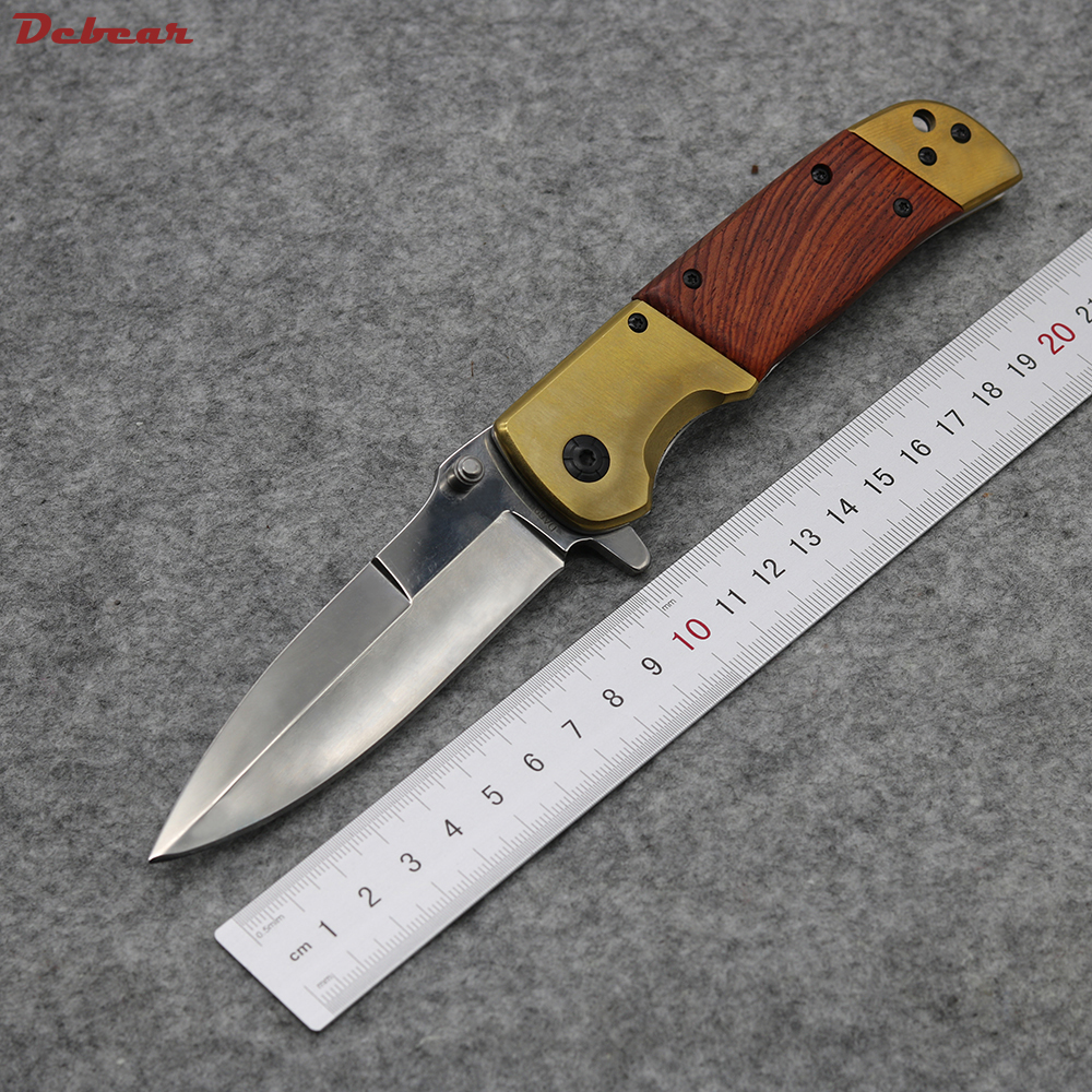 Dcbear New font b Tactical b font font b Knife b font 5CR13MOV Steel Blade Best