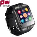 Moda hombre mujer smart watch pinwei para android ios apoyo tf tarjeta de 32 gb sim bluetooth smartwatch 1.54 ''hd ogs muñeca pulsera