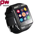 "PINWEI Мода Мужчины Женщины Smart Watch Для Android IOS Поддержка TF Карты 32 ГБ Sim Bluetooth Smartwatch 1.54 ""HD OGS Наручные браслет"