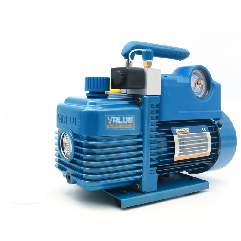 2L Vacuum Pump V-i140SV New Refrigerant  R410A  Air Conditioning Repair Fiber Model 2Pa 250W 7.2m3 / h With Solenoid Valve2L Vacuum Pump V-i140SV New Refrigerant  R410A  Air Conditioning Repair Fiber Model 2Pa 250W 7.2m3 / h With Solenoid Valve