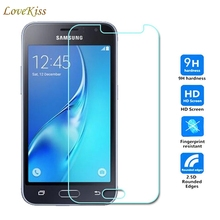 цена на J120 9H Tempered Glass For Samsung Galaxy J1 2016 J120F J1(6) Express 3 J120A Amp 2 J120H J120M J120T Screen Protector Case Film