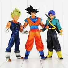 3styles Big Size Dragon Ball Z Resurrection F Son Goku Vegeta Trunks PVC Action Figures Collectible