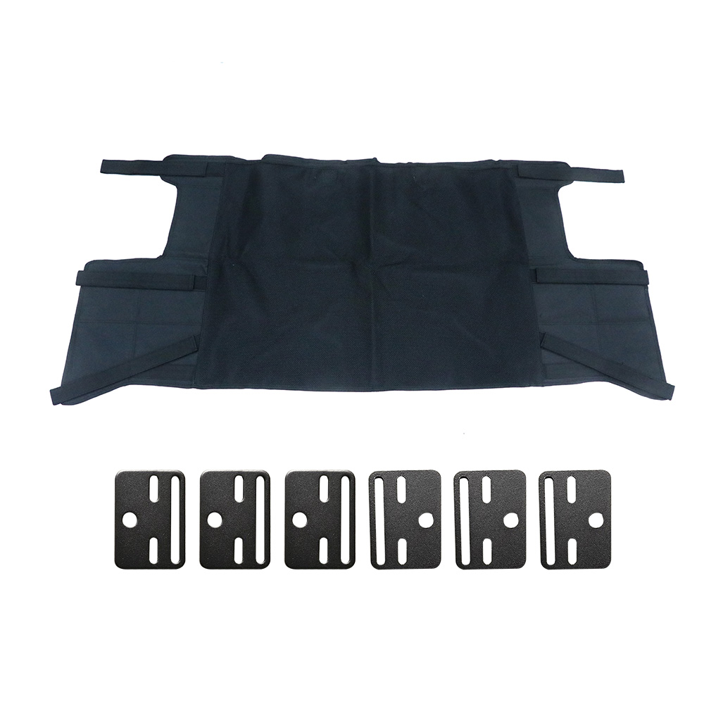 New Rear Trunk Security Cargo Cover Shield Protective Shade Pad for Jeep Wrangler JL 4 Door Car Styling Accessories